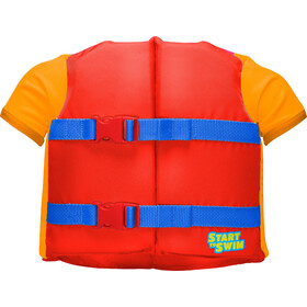 TYR Flotation Shirt Kinderen, rood/oranje